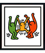 Keith Haring Framed Poster 1985 - $88.11