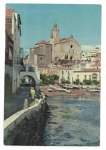 Spain Catalonia Cadaques Costa Brava Port d'Alguer 4X6 Postcard - $4.99