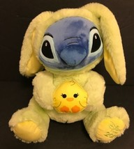 Disney Store 2019 Stitch Easter Medium Yellow Plush New Tags Rare Lilo Limited - $18.69