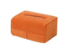 Creative Car Tissue Box Hanging Type Car Paper Box Auto Supplies ,Orange