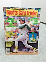 Sports Card Trader January 1991 Magazine Jose Canseco A's  - $6.58