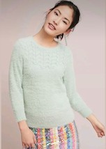New Anthropologie Aubade Pullover by Rosie Neira $128 XS Mint Green Sweater - $57.42