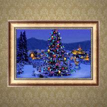 Craft Home Decor 5D Diamond DIY Embroidery Christmas Tree Painting Cros... - $5.99