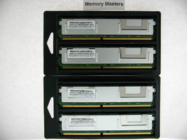 16GB (4x4GB) MEMORY PC2-5300F for HP ProLiant BL20p G4, BL460c 2RX4