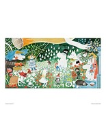 Putinki (Putin Ki) Moomin Color Mini Poster Den Jurasjourney PTK 040071 - $21.00