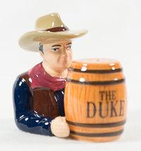 JOHN WAYNE Cowboy Hat Western Movies Ceramic Salt & Pepper Shakers THE DUKE - $34.99