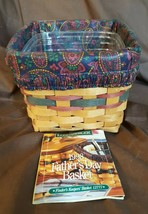 Longaberger 1998 FATHER'S DAY FINDERS KEEPERS Basket Divided Protector &... - $19.95