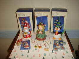 Hallmark 2003, 2004 & 2005 Sweet Tooth Treats Series 2nd, 3rd & 4th Orna... - $39.99