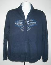 Womens Juniors Harley Davidson XL front zip jacket cotton Bradenton Florida - $34.60