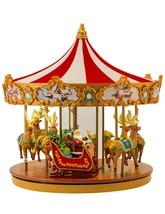 "Mr. Christmas 12"" Very Merry Carousel Plays 25 Christmas Carols (a) - $217.80"