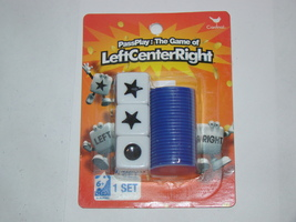 Cardinal - Pass Play: The Game of Left Center Right (1 Set) - $8.00