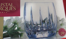Cristal D'arques Enchante 24% Genuine Lead Crystal SET/4 Dof Made In France New - $189.75