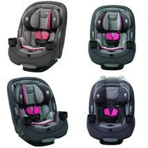 Safety 1St Grow And Go 3-In-1 Convertible Car Seat, Everest Pink - $215.99