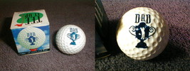 novelty golf ball DAD Giftco collectors fore a above par dad tee it up 1... - $21.96
