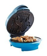 Brentwood Animal Shape Waffle Maker Non Stick Coating with Preheat Light... - £19.91 GBP