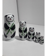 "Russian Matryoshka Doll ""Panda"" (Set of 5) - $7.46"