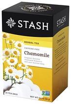 Stash, Organic Chamomile Herbal Tea, Tea Bags, 18 ct - $6.82