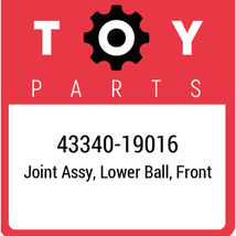 43340-19016 Toyota Ball Joint Lower, New Genuine OEM Part - $63.71