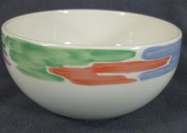 Block Palette Coupe Soup Cereal Bowl Spal Pastel Color Rim Jack Prince P... - $21.95