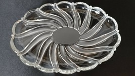 """Mikasa Peppermint Frost 9-1/2"""" Oval Sweet Dish - Made in Germany - $7.00"""