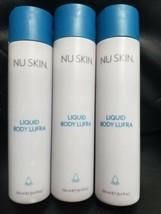 3X Auth Nu Skin Nuskin Liquid Body Lufra Cleanser 250ml/8.4 fl.oz New  - $46.99