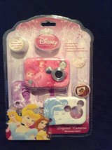 New Disney Princess 2.1M. Digital Camera With 3 Faces 82005 Child Pink - $32.71