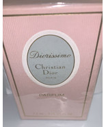 Vintage 60s Christian Dior Diorissimo 7.5 ml/0.25oz Parfum Splash.Sealed... - $93.12