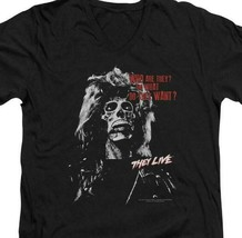They Live t-shirt Who Are They? retro 80s sci-fi 100% cotton graphic tee UNI967 image 2