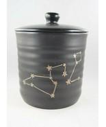 Stay Wild Moon Child Black Boho Constellation Stars Ceramic Jar Canniste... - £18.71 GBP