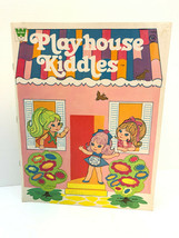 Liddle Kiddles Playhouse Paper Doll Book House Outfits Whitman Vtg Toys ... - $29.03