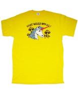 2008 HAROLD KUMAR ESCAPE GUANTANAMO BAY Adlt LG T-SHIRT Movie Unicorn Ye... - $14.99