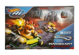 Mario Kart 16 piece Track Set Browsers Castle Mattel New Bonanza - $49.99