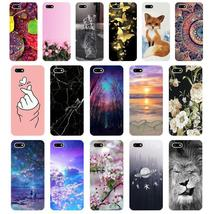 "A Silicone case For Huawei Honor 7A Case 5.45"" inch Soft Phone Case Huaw... - $10.32"
