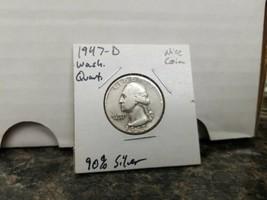 1947- D Washington Quarter Better Date!!!  - $6.93