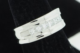 Designer SHR Platinum 7 Princess Cut Diamond Ring (Size 7 1/4) - $1,850.00