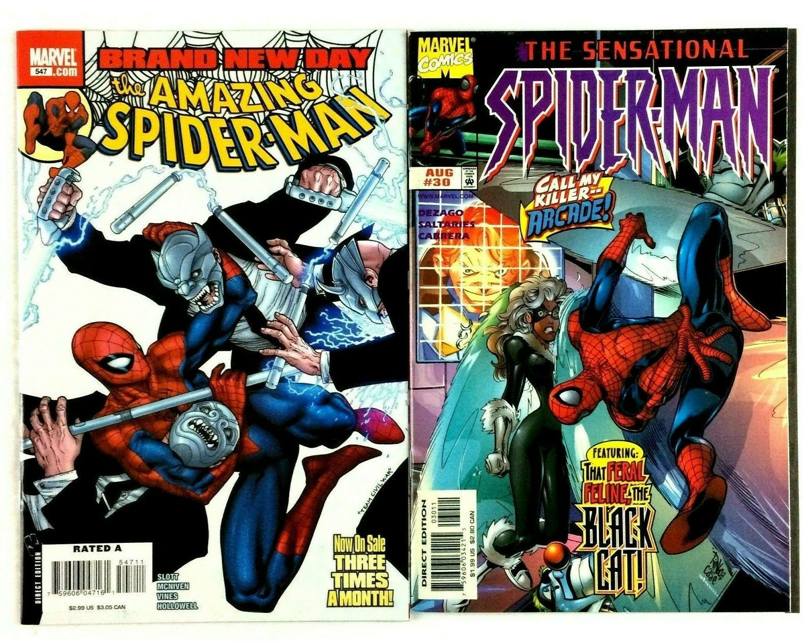 12 Spider-Man Comic Book Lot VF NM Marvel Amazing Sensational Spectacular 2099