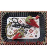 Coverlet Berry Scissor Tray cross stitch chart The Scarlett House - $10.80
