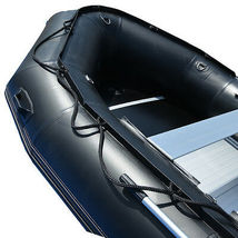 BRIS 15.4 ft Inflatable PVC Boat Inflatable Rescue Fishing Pontoon Boat Dinghy image 7