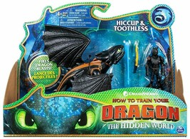 The Hidden World Hiccup & Toothless Action Figure 2-Pack new sealed - $22.54