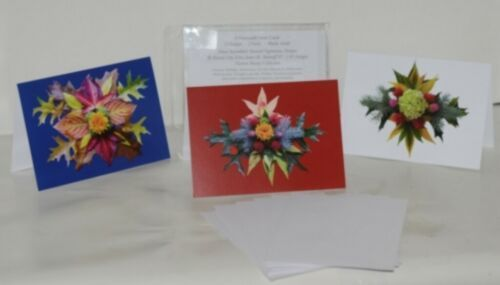 Natural Vegetation Frameable 5X7 All Occasion Card 3 Designs Package 6