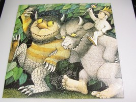 Where the Wild Things Are Puzzle Maurice Sendak 36 pc occupational therapy - $27.71
