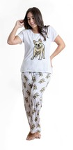 Dog French bulldog pajama set with pants for women Frenchie - $35.00