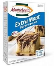 Manischewitz Extra Moist Cake Marble Cake Mix ~ 11.5 oz Single Pack