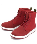 Doc Martens Red Mesh Nubuck Leather RIGAL Unisex Lightweight Boots W-6 /... - $79.99