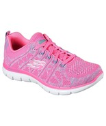 12623 Hot Pink Skechers shoes Memory Foam Women Sporty Train Comfort Casual Soft