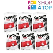 6 ENERGIZER BR1225 LITHIUM BATTERY BLISTER 3V COIN CELL EXP 2029 NEW - $9.30