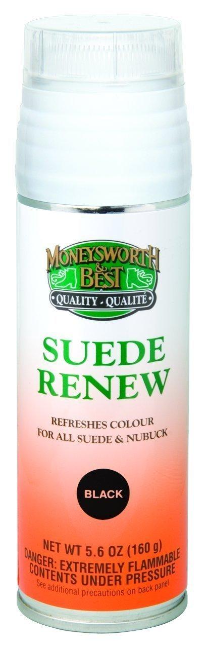Moneysworth & Best Suede Renew Dye / Conditioner Color Spray 165 g / 5.8 oz