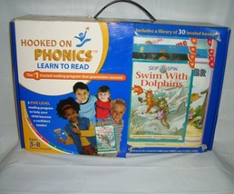 Hooked On Phonics Learn To Read Kit Pre-K/2nd Grade 3-8yrs Homeschool New  - $98.95