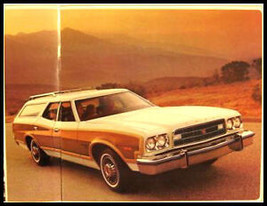 1973 Ford Station Wagon Sales Brochure, Galaxie Torino - $5.69
