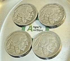 Buffalo Nickel 1934, 1935, 1936 and 1937  AA20BN-CN6091 image 2